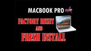 Factory Reset and Fresh Install Mac OS X El Capitan (Tagalog version)