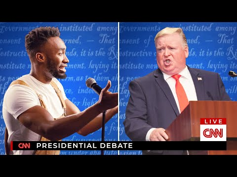 I CRASHED THE FINAL 2020 PRESIDENTIAL DEBATE