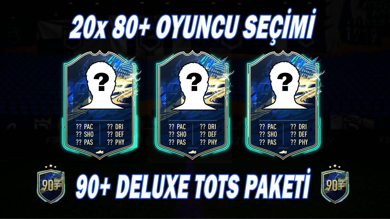 90+ DELUXE TOTS PAKETİ & 20x 80+ OYUNCU SEÇİMİ !! FIFA 21 Ultimate Team (Türkçe) #185