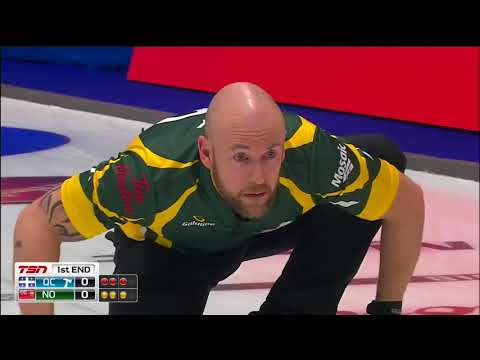 Jacobs (NO) vs. Fournier (QC) - 2018 Tim Hortons Brier - Draw 11