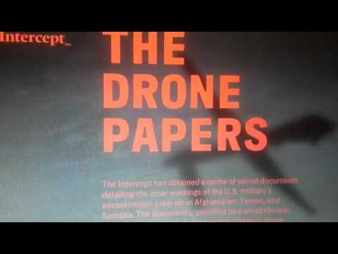 """The Drone Papers""  Whistleblower spills the beans !"