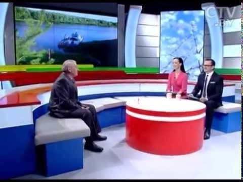 CTV.BY:Николай Добыш,командир-механик земснаряда Днепро-Березинского предприятия водных путей на СТВ