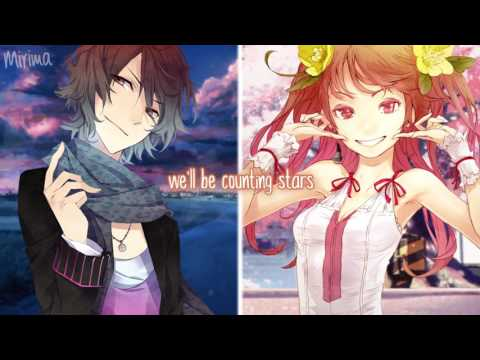 「Nightcore」→ Counting Stars Switching Vocals