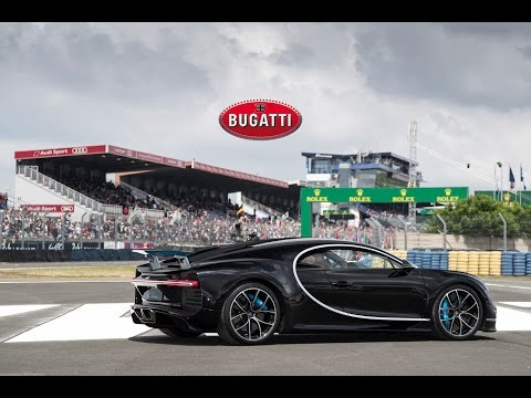 The Bugatti Chiron at the 24 Hours of Le Mans 2016 - On Track + Drivers Parade