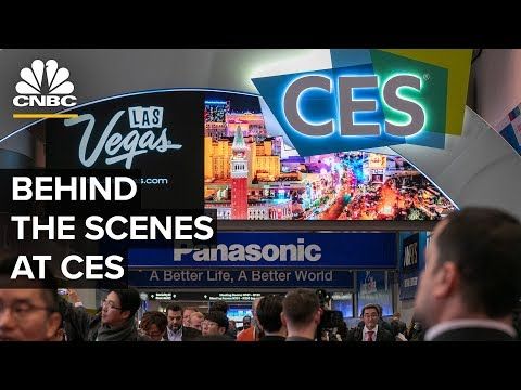Behind the scenes at 2020 Consumer Electronics Show – 1/9/2020