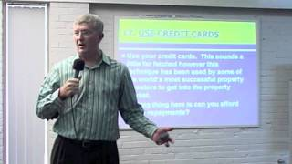 The Property King-Sean Summerville Using Credit Cards to Purchase a House Part 17