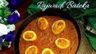 How to make stuffed potato/ kashmiri stuffed potato curry/ Rajwadi bateka/ bharva aaloo