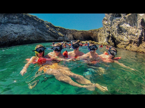HIDDEN BEACH, MARIETAS ISLANDS, PUERTO VALLARTA, SNORKELING TOUR