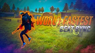 World's Fastest Free fire Beat Sync Montage |Bhaag Johnny :Daddy Mummy  Free Fire Beat Sync Montage
