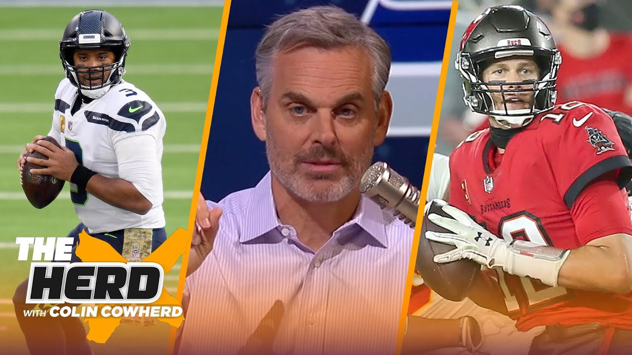 Brady & Arians don't fit, talks Seattle defense & caliber of Russ' Seahawks — Colin | NFL | THE HERD - download from YouTube for free