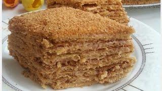 Торт Медовик - классический рецепт