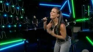 Download Alicia Keys - Try Sleeping With A Broken Heart (Live on The View) MP3 song and Music Video