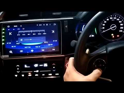 Honda City 2017 Hybrid - Convex 10.1 inch Android Master Big Screen Player with canbus &front camera