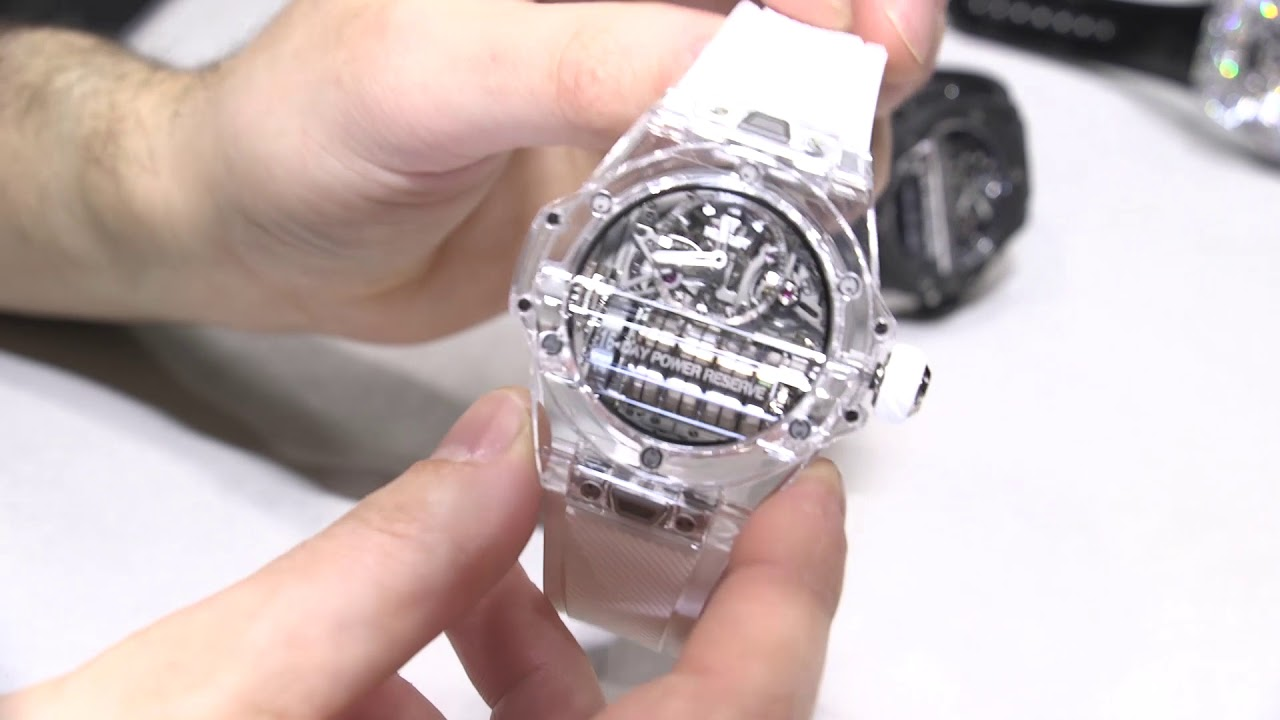 Hublot MP-11 Power Reserve 14 Days Sapphire & 3D Carbon Watches Hands-On    aBlogtoWatch - YouTube