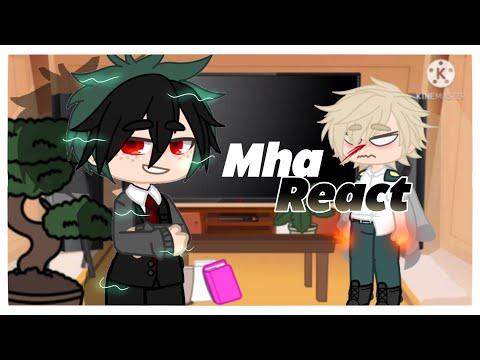 Mha react to