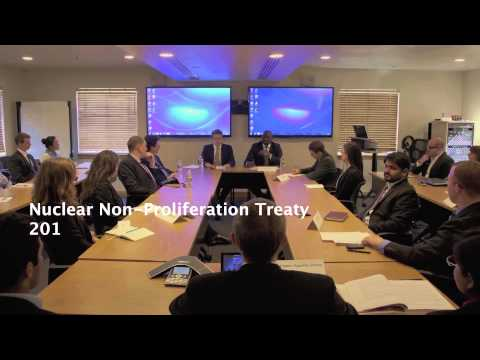 Treaty on the Non-Proliferation of Nuclear Weapons (NPT) Simulation class