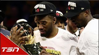 The Raptors' road to their first NBA Championship