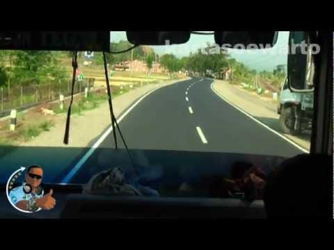 Cirebon Town To Tegal Town By Bus 2012 (Disco)