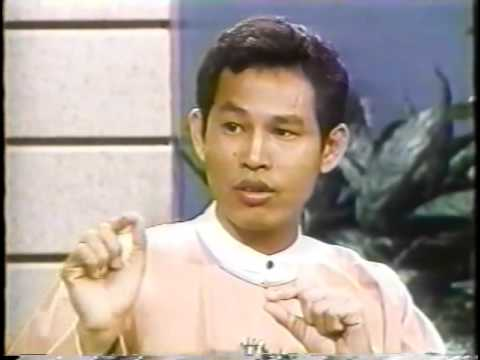 Free Burma (now Myanmar) Activism: early interview with ZARNI, USA, 1996