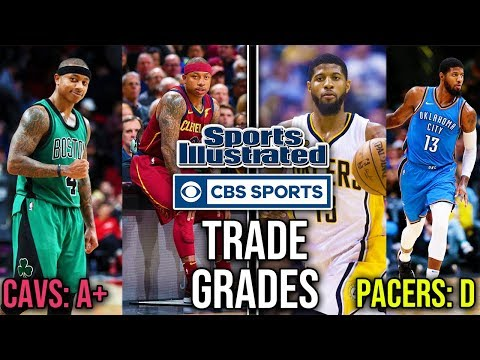 Looking Back At NBA Trade Grades #1 - Kyrie Irving, Paul George + More