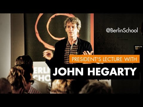 President's Lecture Sir John Hegarty