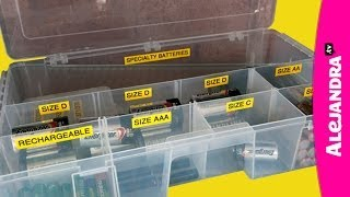 How to Organize Batteries (Part 9 of 9 Home Office Organization Series) Thumbnail