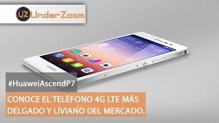 Review Huawei Ascend P7 4G LTE - Smartphone Español #HuaweiAscendP7