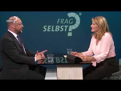 Fragselbst : Martin Schulz SPD beantwortete Fragen im Facebook Chat der tagesschau am 27. 8. 2017
