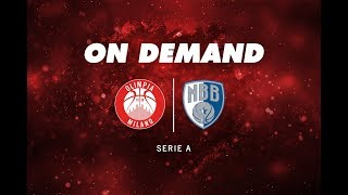 EA7 Olimpia Milano - Brindisi On Demand