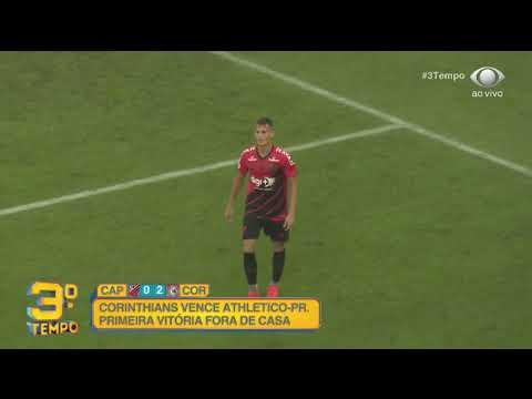 Melhores Momentos Atlético-PR 0 x 2 Corinthians