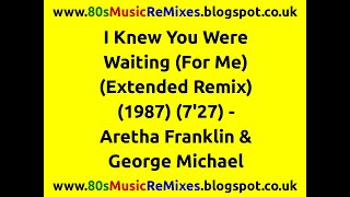 I Knew You Were Waiting (For Me) (Extended Remix) - Aretha Franklin & George Michael | 80s Pop Hits