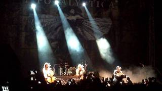 Apocalyptica - Nothing Else Matters - Bogotá 2012