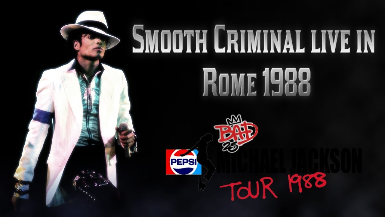 Michael Jackson Smooth Criminal live in Rome 1988 Bad ...