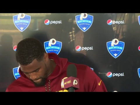 WATCH LIVE: Redskins DL Jonathan Allen speaks to the media on Fan Day at #SkinsCamp.