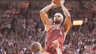 Lebron james: top 10 clutch shots as a miami heat