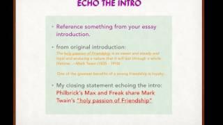 closing statement essay