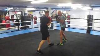 Training with Davy in Marbella