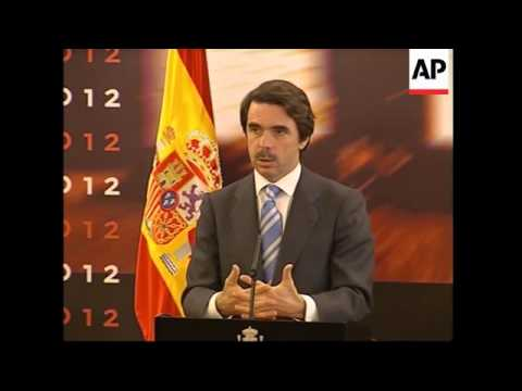 Spain unveils its bid for the 2012 Olympics Games
