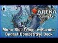 Magic Arena | Mono-Blue Tempo w/Ravnica [Competitive Budget deck]
