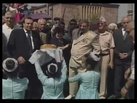Г.С.Авакян - открытие памятника в Армении