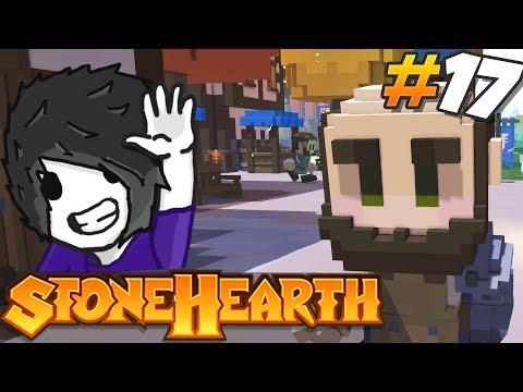 Stonehearth 1.1 Gameplay - Gardening in Bantonia #17