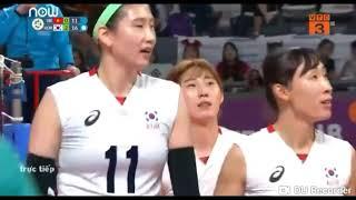middel blocks korea Kim suji in asiad 2018