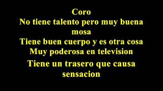 Willie Colon   Talento de television  Letra