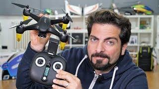 Drone JJRC X3P GPS - primo sguardo - Parte 1