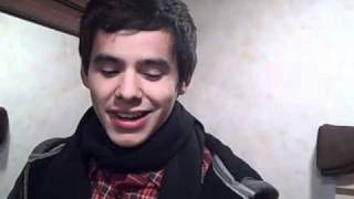 David Archuleta at ArtPrize 2010 Grand Rapids