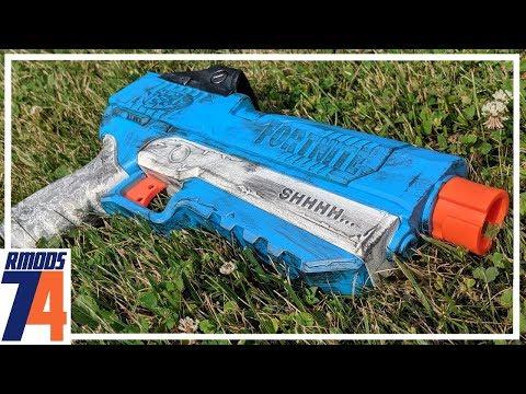 Nerf Fortnite SP-L Pistol Mod Guide