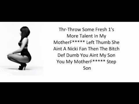 Nicki Minaj-Did It On Em (Lyrics) Clean