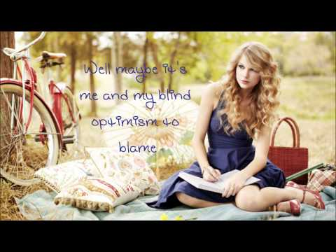 Taylor Swift - Dear John (Lyrics)