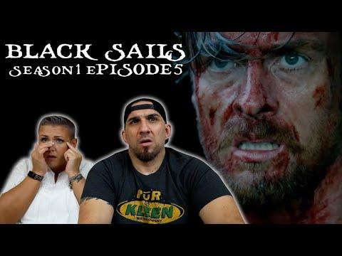 Download Black Sails Season 1 Episode 5 'V.' REACTION!!
