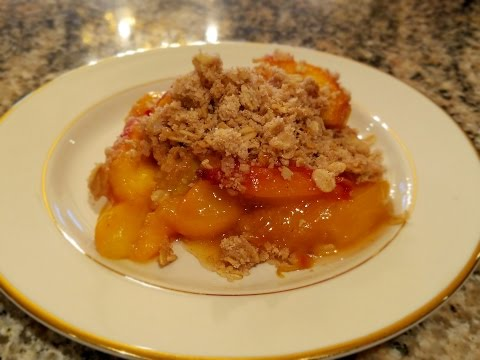 💖 Easy Peach Cobbler, Crisp Or Crumble Recipe By Mommy Is A Chef Summer Recipe Ideas